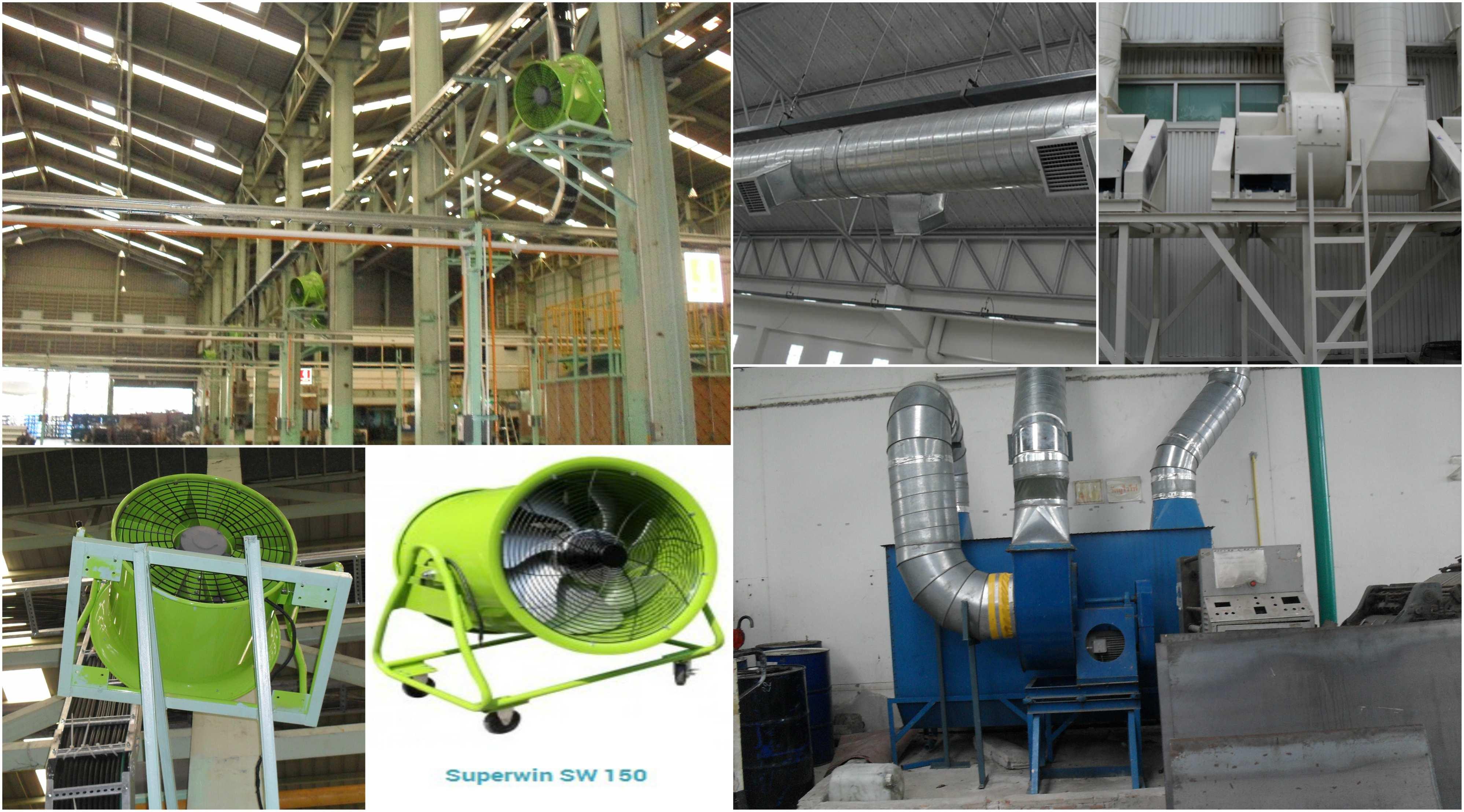 ระบบระบายอากาศ โรงงานอุตสาหกรรม